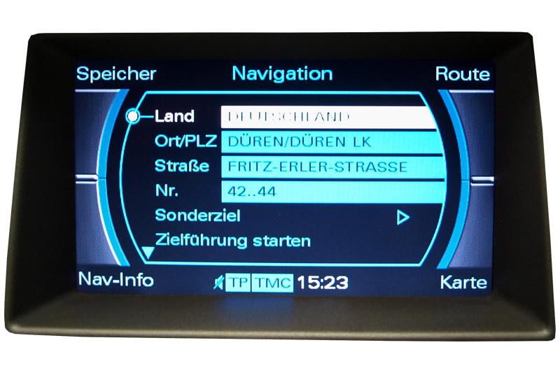 Audi A8 Reparatur Monitor Navigation Mmi