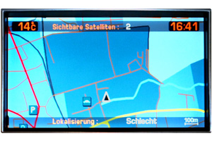 Citroën C8 - Navidisplay
