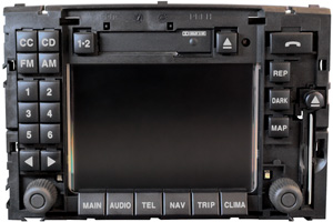 Fiat Idea - Reparatur Navi Display Ausfall