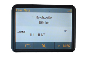 Opel Combo - Repariertes CID-Display