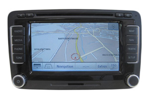 VW Jetta - Navigationsgerät RNS 510 mit Touchscreen Display Reparatur